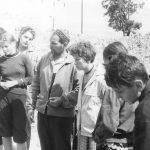 Коля Головчинер: Археолог Белецкий о раскопках в Довмонтовом городе. Коля справа, 1960г.