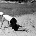 Коля Головчинер: Экспедиция. Поиск артефактов на развеях. Чудское озеро, 1960г.