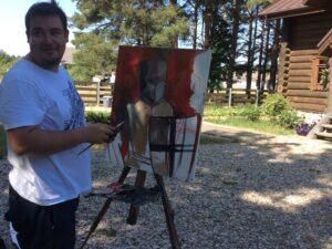 Молодые художники России в Самолве